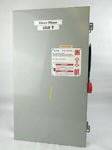 Dh364ngk Eaton Heavy Duty Safety Switch 200 Amp 600v
