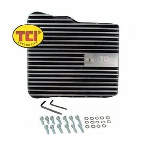 Tci 538010 Max cool Aluminum Deep Transmission Pan For Gm Allison 1000 2000 2400