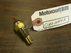 Nos Oem Ford 1956 1963 Lincoln Mercury Temperature Sending Unit 1957 1958 1959
