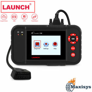 Launch X431 Creader Viii Abs Srs Diagnostic Scanner Obd2 Code Reader As Crp129