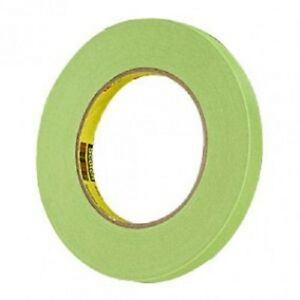 3m 26332 1 2 Green Masking Tape 1 Roll