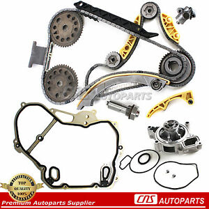 Timing Chain Kit Cover Gasket Balance Shaft Water Pump For Gm 2 0l 2 2l 2 4l