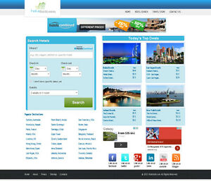 Hotel Search Turnkey Website Hotels Combined Amazon Affiliate Adsense