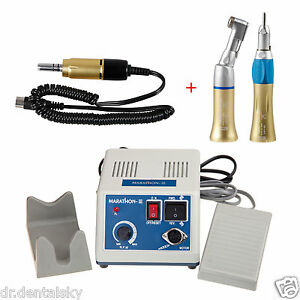 Dental Marathon Electric Micro Motor 35krpm Contra Straight Polish Handpiece Gqa