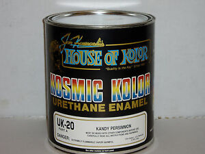 Uk20 Persimmon Kandy House Of Kolor Kosmic Kolor Uk 20 Gallon