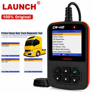 Original Launch Cr Hd Heavy Duty Diesel Truck Scanner Car Diagnostic Scan Tools