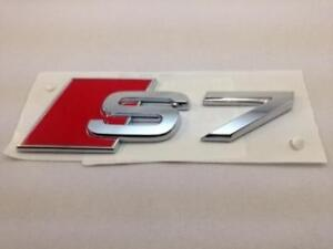 Oem Audi A7 S7 Chrome Badge Emblem Rear S Line