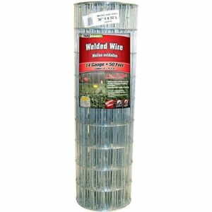 Yardgard 308301b Galvanized Welded Wire Fence 14 gauge 4 x2 Mesh 36 x50