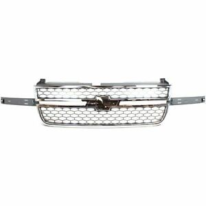 Gm1200546 New 2005 2007 Grille Front For Chevrolet Silverado 1500 2500