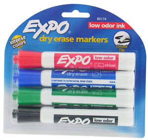 Expo Assorted Dry Erase Marker 4 Pack Set Of 6