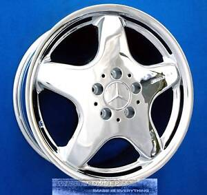 Mercedes Clk320 Clk430 Slk230 Slk320 Amg Chrome Wheel 17x7 5 Clk Slk 230 320 430