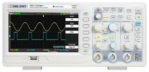 Siglent Sds1152cml 2 channel Digital Oscilloscope 150 Mhz 1 Gsa s 2 M