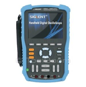 Siglent Shs806 Handheld Digital Oscilloscope 2 channel 60mhz 1gsa s 2mb 5 6 Lcd