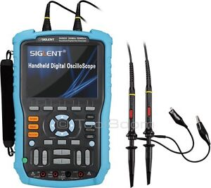 Siglent Shs820 Handheld Digital Oscilloscope 2 channel 200mhz 500ms s 32k