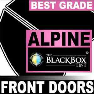 Toyota Echo 4 Door 00 05 Alpine Blackbox 35 Precut Window Tint Front Doors