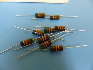 Ohmite Oh5135 Qty Of 19 Per Lot Res51k2w5 cc Carbon Comp Resistor