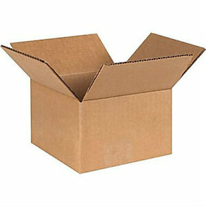 25 8x8x8 Shipping Packing Mailing Moving Boxes Corrugated Carton Fastshipping
