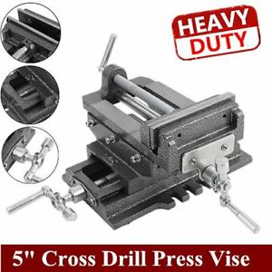 New 5 Cross Drill Press Vise X y Clamp Machine Slide Metal Milling 2 Way Hd Bb