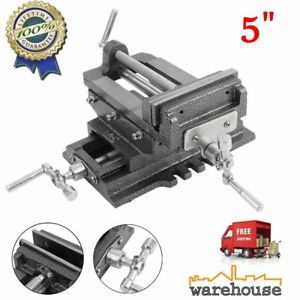 5 Cross Drill Press Vise Slide Metal Milling 2 Way X y Clamp Machine Heavy D Bb