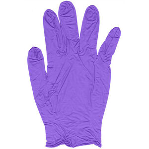 2000 Purple Nitrile Disposable Gloves Powder Free All Sizes Sale Best Price