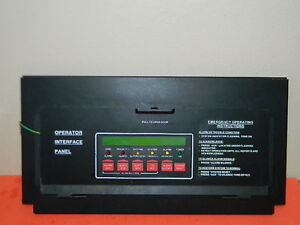 Simplex 4020 8001 Interface Annunciator Fire Alarm Panel