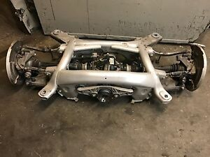 2013 Bmw m M5 Complete Rear End Suspension Differential 3 15 Control Arm N
