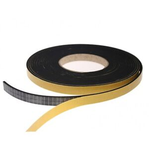 Epdm Rubber Self Adhesive Foam Sealing Tape Strip Draught Excluder 10 Meter Roll
