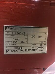 Yaskawa Uzdc b Reactor 1ph 780a 1200v
