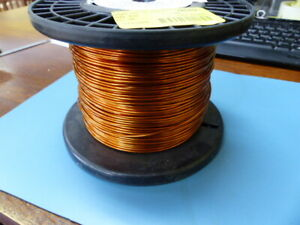 Fay Mw 15c 14awg Qty Of 1 Per Lot Magnetic Wire 14 Awg Copper 10 Lbs