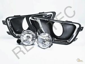 2015 2016 Chevy Colorado Truck Front Bumper Driving Fog Light Kit W Bulbs