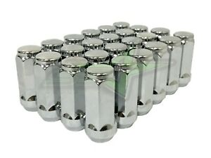 32 Chrome Acorn Bulge Lug Nuts 14x1 5 Fits Ford F 250 F 350 Superduty Excursion