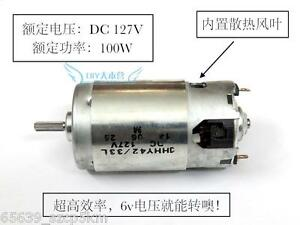 Dc 120v High power Dc Motor Generators Wind Turbines 10000rpm 100w For Diy