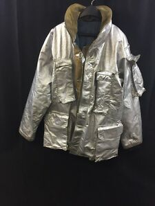 Fire Gear Firefighter Proximity Jacket Turnout P41fvb 42r Fair poor Condition