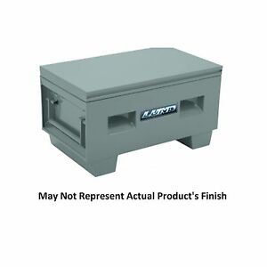 Lund 708060 Universal 23 8 Cubic Feet Steel Job Site Tool Box 60 X 24 X 28