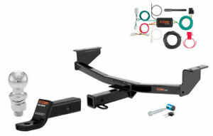 Curt Class 3 Trailer Hitch Tow Package W 2 Ball For Nissan Rogue