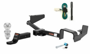 Curt Class 3 Trailer Hitch Tow Package W 2 Ball For Toyota Highlander