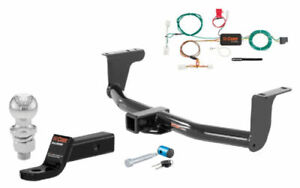 Curt Class 3 Trailer Hitch Tow Package W 2 Ball For Nissan Murano