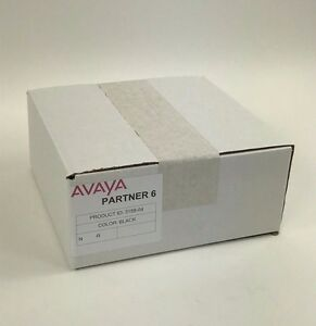 Partner 6 Euro Series 1 Black Avaya Phone 3158 04 Bulk