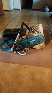 Makita 73cc 14 Gas Saw Low Hours On It
