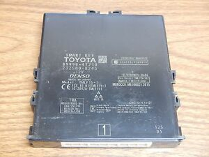 2016 Toyota Prius Smart Key Control Module 89990 47210 New Take Off Iihs Vehicle