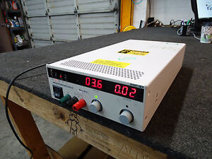 Xantrex Xhr33 18 Programmable Dc Power Supply 0 33v 0 18a 1000w Tested Good