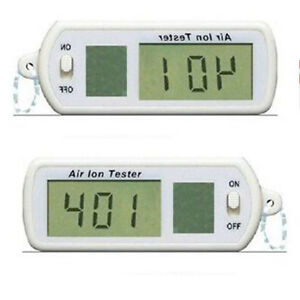 Air Ion Tester Meter Counter ve Negative Ions With Peak Maximum Hold Lcd