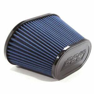 Bbk 1741 Replacement Oval Cold Air Intake Filter Blue 3 5 Inlet