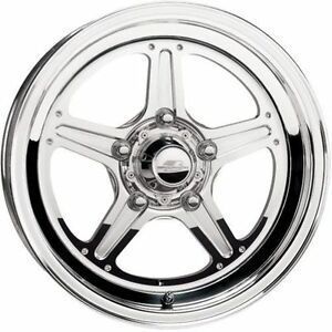 Billet Specialties Rs035606535n Street Life Wheel 15x6 Size Polished Each