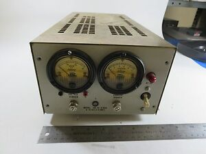 Trygon Electronics Hr30 8b0v Analog Dc Power Supply output 0 30 Vdc 0 8a