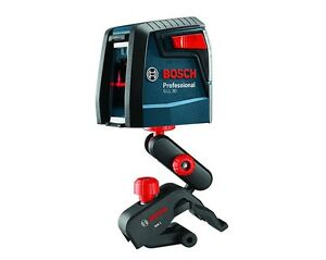 Bosch Gll 30 Self Leveling Cross Line Laser W Flexible Mount Kit Reconditioned