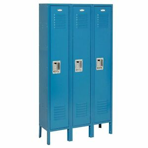 Nexel 2 Tier 1 Wide 2 School Locker