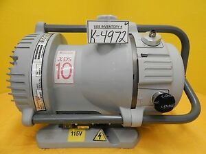 Xds 10 Edwards A72601906xs Xds Dry Vacuum Pump Xds10 Used Tested Working