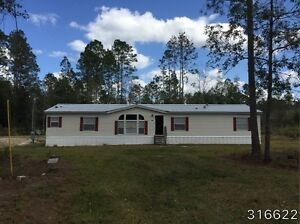 2004 Nobility Mobile Home 5br 3ba 42x72 With Land Olustee Florida