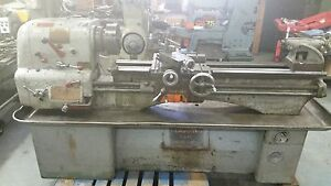 Clausing colechester 15 X 48 Gap Bed Engine Lathe